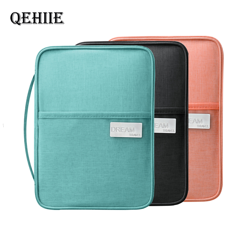 Waterproof Passport Holder Travel Wallet Big Card Package Credit Card Holde Organizer Travel accessories Document Bag Cardholder
