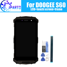 DOOGEE S60 LCD Display+Touch Screen Digitizer +Frame Assembly 100% Original New LCD+Touch Digitizer for DOOGEE S60+Tools