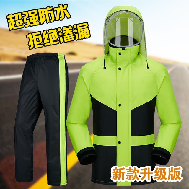Red Raincoat Rain Pants Suit Jacket Rain Coat Bicycle Riding Motorcycle Raincoat Rain Poncho Hiking Casaco Masculino Gift Ideas
