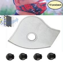 Actieve Kool Filters Stofdicht Anti Vervuiling Uitlaat Gas PM2.5 Wedstrijd Tactische Fietsen Masker Voor Thuis Outdoor Bisiklet Maskers