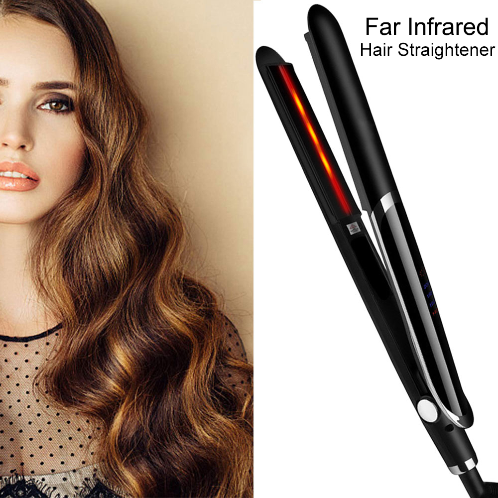 Professional Hair Straightener Flat Iron Tong For Hair Styling Plank Straightening Iron Styler Corrugation Curling Irons