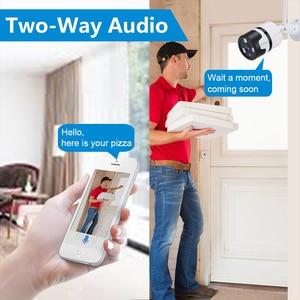 Image 5 - CPVan IP kamera Alexa kamera HD 1080P Bullet kamera iki yönlü ses gece görüş WiFi видеонаблюдение gözetim