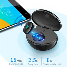 цена Bluetooth Headset with Charging Compartment Stereo Wireless In-ear Earphones Bluetooth Noise Reduction Sports  AS99