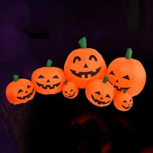 Halloween inflatable pumpkin home decoration, suitable for garden lawn party outdoor decoration