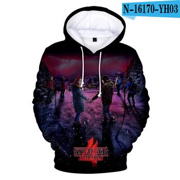 Nowy Stranger Things sezon 4 bluzy bluzy mężczyźni kobiety dzieci moda luźny pulower z kapturem Stranger Things 4 ubrania tanie i dobre opinie aikooki Pełne Na co dzień Drukuj REGULAR Stranger things Hoodie Sweatshirt Hoody Bluzy z kapturem Brak STANDARD POLIESTER