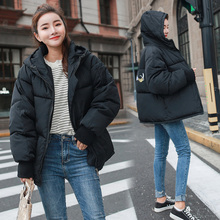 Winter Jacket Female Cotton Short Jackets 2019 New Padded Hooded Warm Parkas Coat Women Autumn Outerwear Plus Size Loose Coats