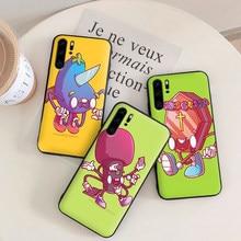 3D cartoon Mobile Phone Cases for Huawei Y6 Y7 Y9 Prime 2019 Mate 10 20 Pro Nova2 3 4 Lite Nova 2i 3i 5i Cover(China)