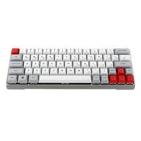 GK64 PBT Keycap Aluminum Alloy Shell Gateron Switch Mechanical Keyboard Keycap Hot Swap RGB Keycap (Not Keyboard)
