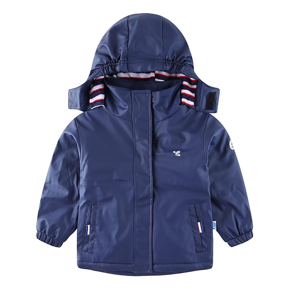 Fulision 2-8 Years Old for Little Girl Cute Printing Waterproof Hooded Raincoat Purple
