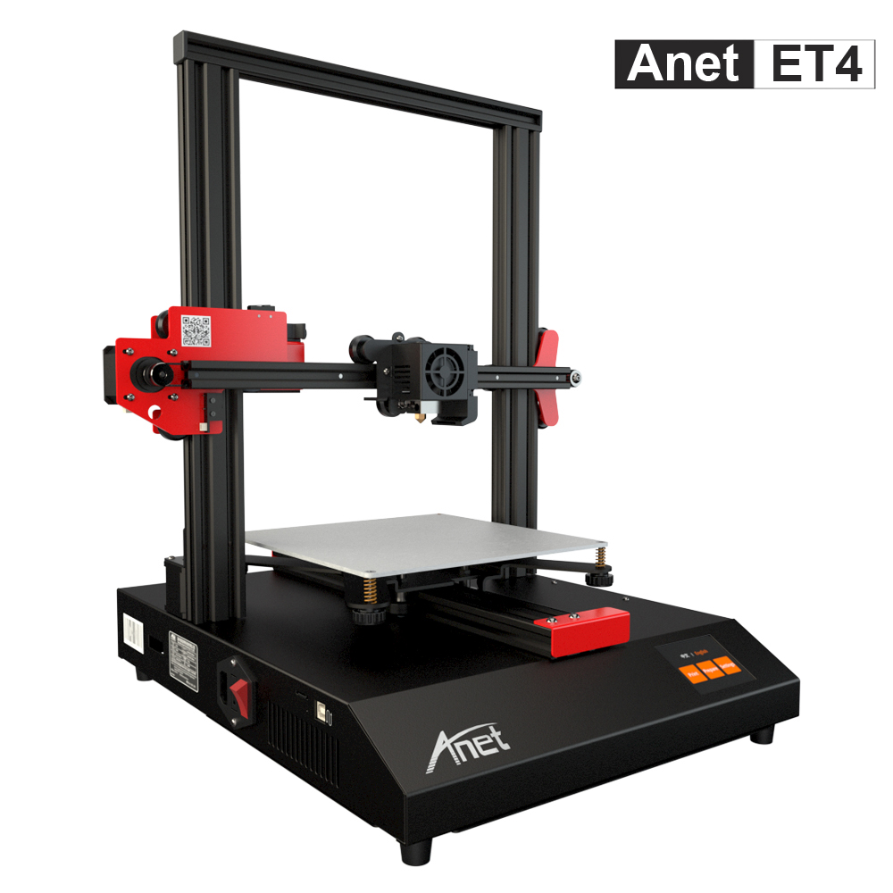 Anet A8 A6 A8 Plus ET4 FDM 3d Printer High-precision Extruder A4988 Prusa I3 3D Printer Kit DIY With PLA Filament Impresora 3d