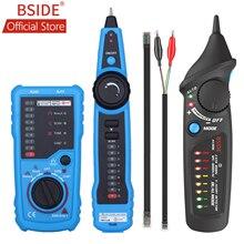 BSIDE FWT11 высокое качество RJ11 RJ45 Cat5 Cat6 телефонный провод трекер Tracer тонер Ethernet LAN Сетевой кабель тестер линия Finder