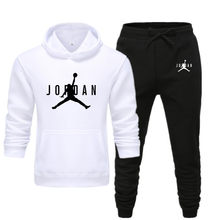 2021 Men's High Quality Fashion Solid Color Hoodie Athletic Casual Apparel Hip Hop Must-Have Custom Print Top + Pants