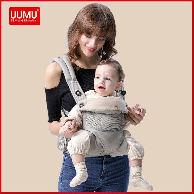 UUMU coton ergonomique bébé sacs à dos transporteur écharpe Wrap titulaire Hipseat taille ceinture sac à dos Gear Ring accessoires livraison directe