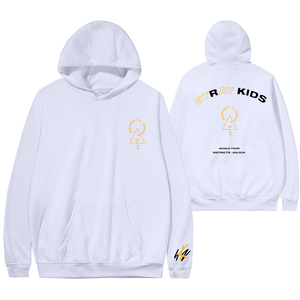 Image 4 - 2020 New Arrival Stray Kids District 9 Unlock Concert Fashion Hoodies Cool Fans Long Sleeve Sweatshirts Hooded Women/Men Clothes