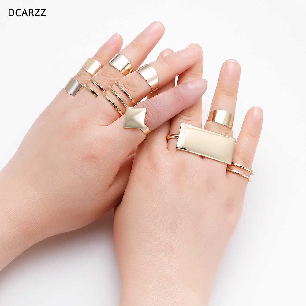 2020 Harley Quinn Two Finger Rings Birds Of Prey Cosplay Jewelry Punk Gold Rings Set Women Men Party Costume Accessories Aliexpress