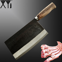 Handmade Forged Butcher Knife Professional High Carbon Steel Chinese Meat Cleaver Kitchen Knives