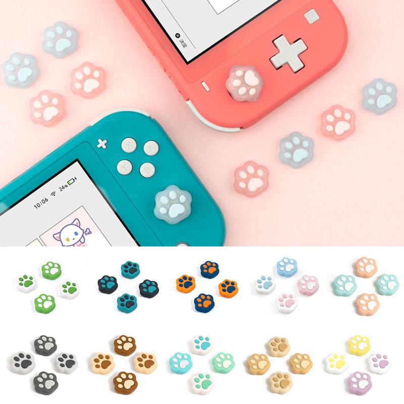 Kawaii Cat Paw Switch Thumb Cap (4 PCS) Joystick Nintendo Switch 1