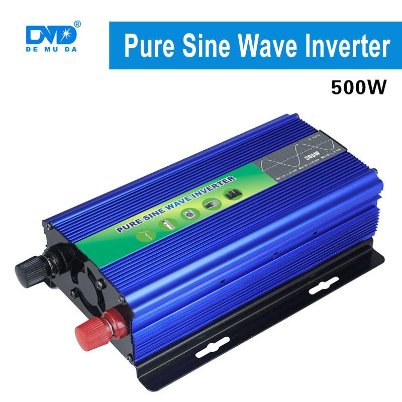 Démarrage en douceur dc-ac pur onduleur à onde sinusoïdale 500w 24v 220v avec un bon prix