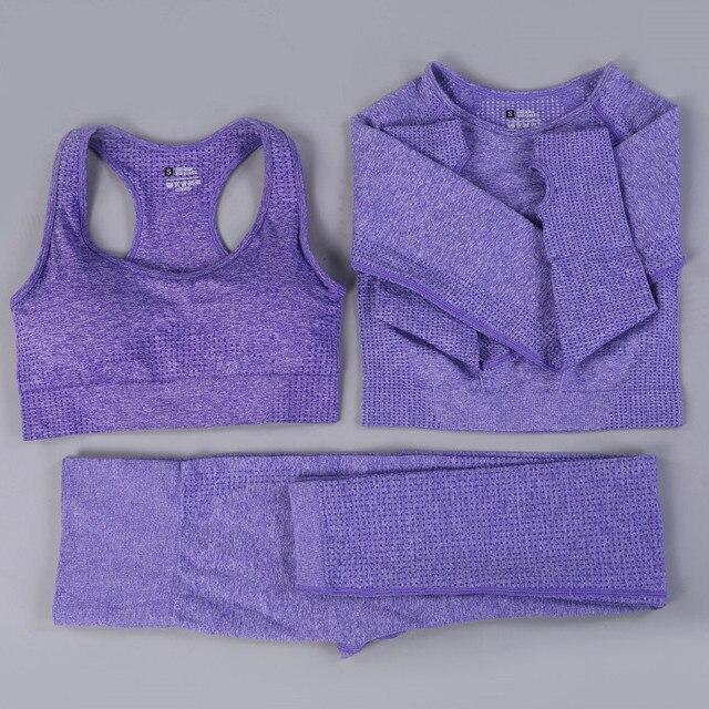 Purple 3 pcs