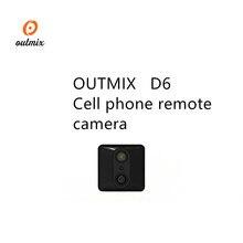 D6 Mini Macchina Fotografica 1080p Micro Outdoor Macchina Fotografica di Sport Video HD Della Macchina Fotografica di Visione Notturna Senza Fili Del Corpo DVR DV Piccolo Movimento sensore di Minicamera