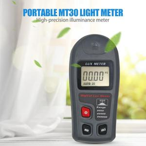 Mt30 alta precisão digital luxmeter luminômetro medidor de luz fotômetro testes ambientais