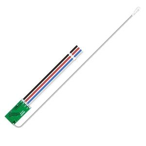 Image 2 - Rubrum 433mhz DC 3.6V 6V 12V 24V 1CH Relè RF Wireless RF Interruttore di Comando A Distanza controller di Lampada A LED Micro Ricevitore Trasmettitore
