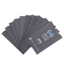 Sleeve Blocking RFID Case-Cover Card-Protector Bank Anti-Theft Safety Multicolor 10pcs/Set