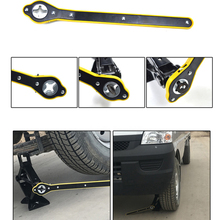 Auto Labor-Saving Jack Ratchet Wrench Scissor Jack Garage Tire Wheel Wrench Handle Labor-Saving Wrench Auto Maintenance Supplies