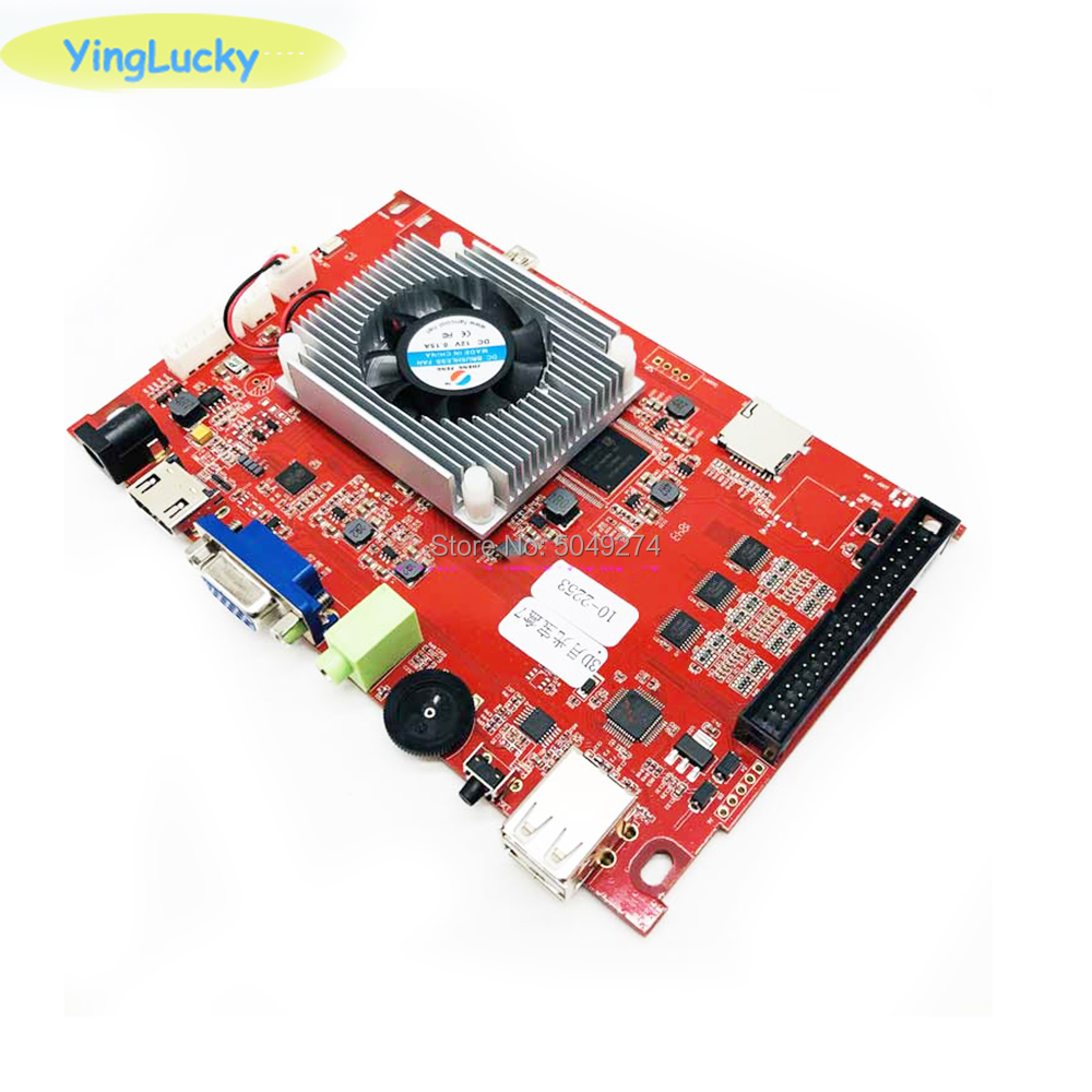 yinglucky Pandora BOX 3D Key 7 Arcade Console with PCB Board 2 Player Home Use Controller 2263 Games Retro Video Game Machine