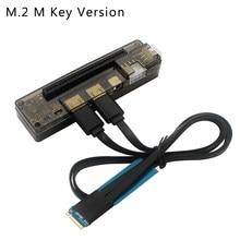 Pci-e exp gdc placa de vídeo portátil externo doca placa gráfica portátil docking station interface m.2m