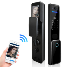 Lock Camera Fingerprint-Lock Biometric Electronic-Door for Family And Company Capture