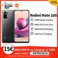 [Мировая премьера В наличии] Xiaomi Redmi Note 10S Глобальная версия Смартфон 64Мп Камера Helio G95 5000мАч 33Вт AMOLED DotDisplay