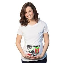 Pregnancy-Party-Dress Maternity-Tshirt Nursing Funny Plus-Size Fashion Cartoon Outfit