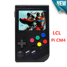 NEW Raspberry pi CM4 Retro Game Console for Game Boy Portable Handheld Game Player 3.5 Inch IPS Screen with 10000 Games