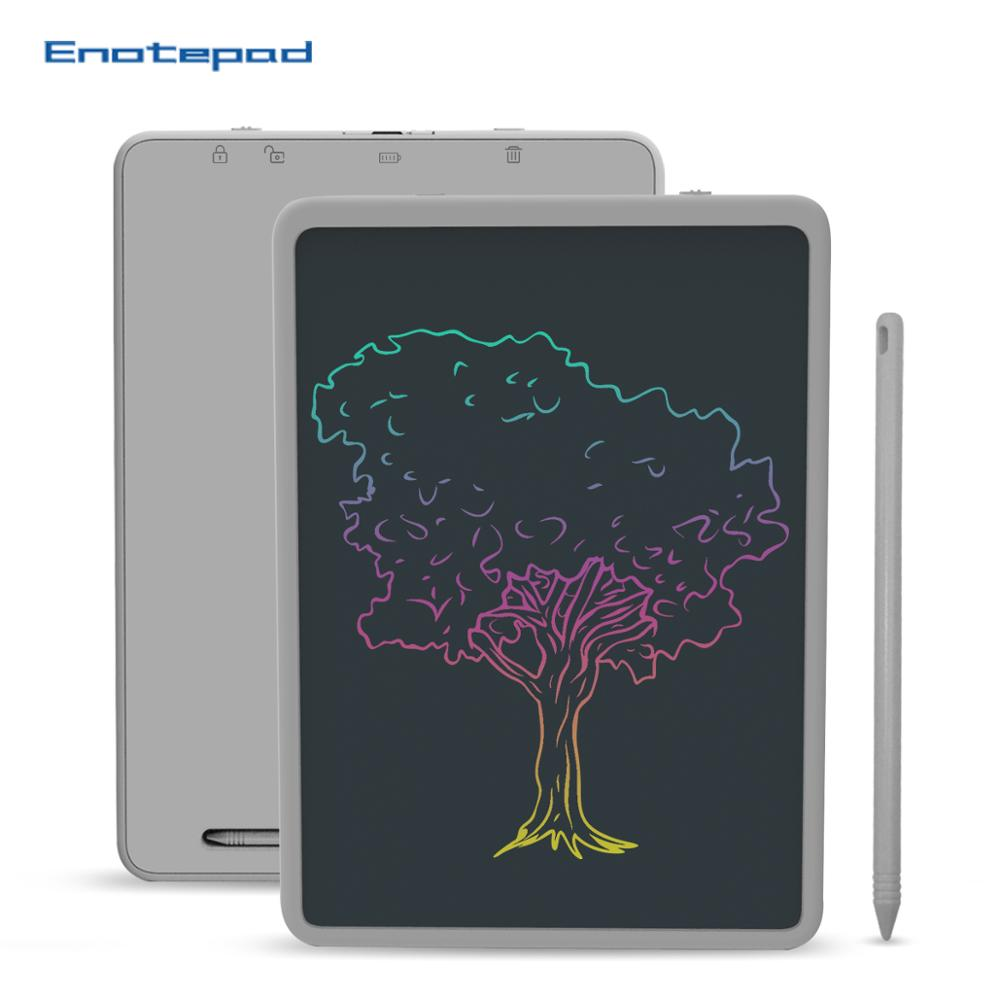 Enotepad 11 Inch LCD Color Screen Drawing Pad Reuse For Business Negotiation Notes Calculations Drawing And Messages