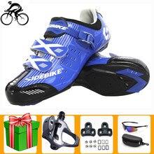 SIDEBIKE-zapatos de ciclismo para hombre y mujer, zapatillas deportivas con autosujeción, para Carretera