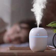 Diffuser Aroma Air-Humidifier Led-Light Essential-Oil Ultrasonic MINI Home-Car Cute USB