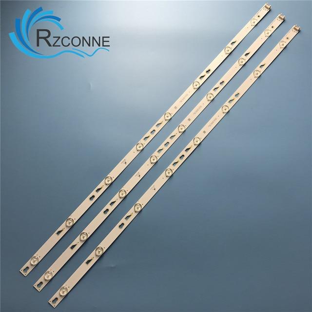 """Led Backlight Strip 8 Lamp Voor Tcl 40 """"Tv L40F3303B L40F3301B L40F3800A TOT_40F3800_3X8_3030C V1 LVF400SS0TE2V2 LED40D2710B"""