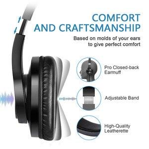 Image 3 - Oneodio T3 Verdrahtete Kopfhörer Über Ohr Headset Mit Mikrofon Stereo Bass Kopfhörer Einstellbar Kopfhörer Für Handy