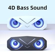 Caixa De Som Bluetooth Speaker Soundbar Subwoofer Portable Wireless Column MP3 Player Support TF Card Loudspeaker for PC Laptop