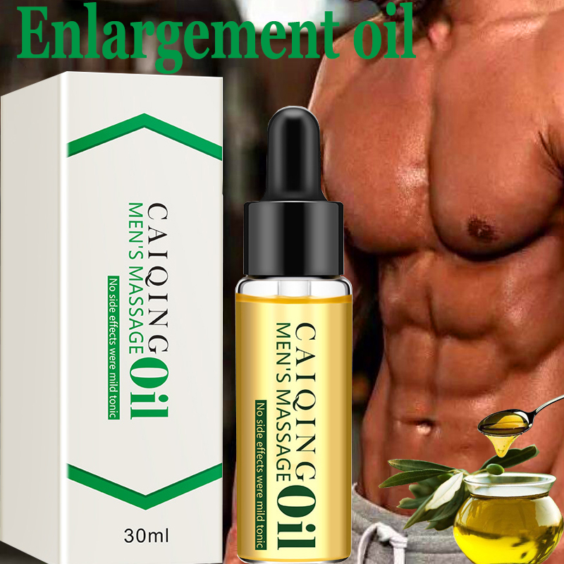 Male Penis Enlargement Oils Big Dick Cock Erection Enhance Men Health Care Enlarge Massage Thickening Growth Stronger 30ml