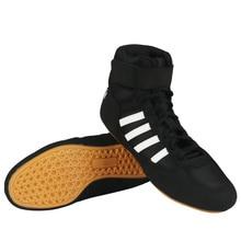 Качественная мужская и женская обувь для борьбы, легкая, красная, черная, Мужская обувь для бокса, резиновая подошва, кроссовки для борьбы, пара, большие размеры