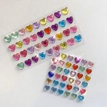 3d блестящие алмазные наклейки love красивые игрушки для детей