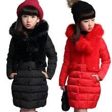 Chaqueta acolchada de algodón para niña, abrigo de moda para niño, ropa de abrigo para niño, chaqueta de plumas cálida para bebé, ropa para niño de 4 a 12 años