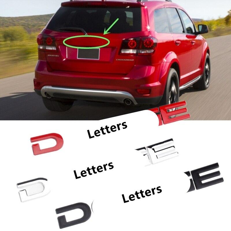 Наклейка на автомобильную эмблему, наклейка на переднюю крышку капота с надписью из сплава для Dodge Durango, путешествие, зарядное устройство, ка...