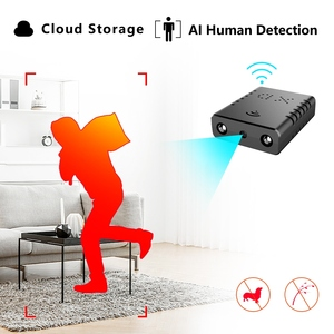 Image 2 - HD Mini Wifi Nanny Smart Kamera IR Cut Cloud Speicher IP/AP AI Menschliches Detection Fern Alarm Camcorder max Unterstützung 128G