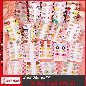 5/10/15 Fashion Animal Fruit Hairpin For Kids Girls New Colorful Carton Hairpins Hair Clip Barrettes Headband Hair Accessories