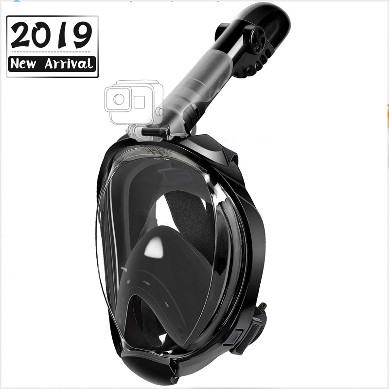 Scuba Diving Mask Full Face Snorkeling Mask Underwater Anti Fog Snorkeling Diving Mask For Swimming Spearfishing Dive Men Women