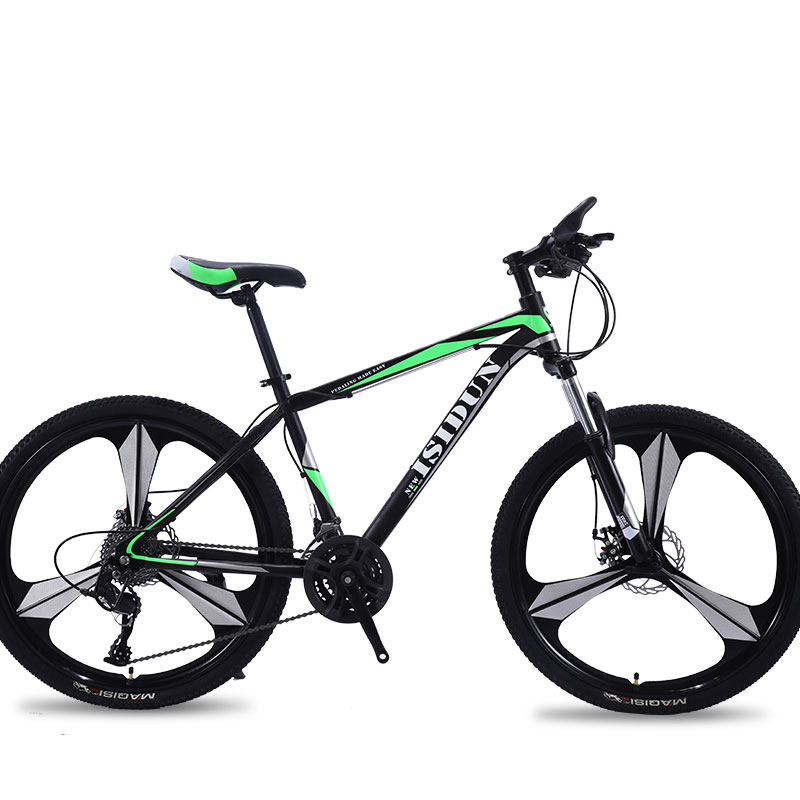 Mountain Bike 26 Inch Adult Speed Shift One Wheel Three Knife Double Disc Brakes Road Bicycle