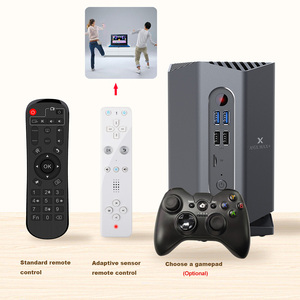 Image 3 - ゲームテレビボックスアンドロイド 9.0 A95X 最大プラス Amlogic S922X USB3.0 1080 1080P H.265 4 18K 75fps Google プレーヤー店 plex メディアサーバートップボックス